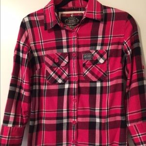 Superdry Tops - Super dry flannel