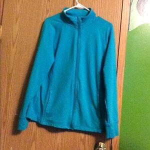 Danskin Now Tops - Blue jacket
