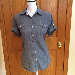 Faded Glory Denim Top