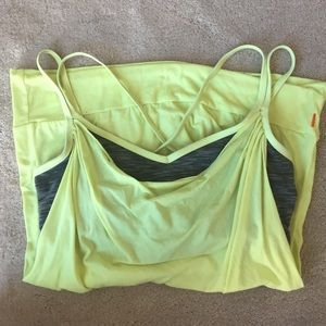 Electric Yoga Tops - Sexy, Perfect Fit Lucy Grey/Neon Sports Bra Top