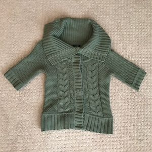 EXPRESS button down sweater sz S