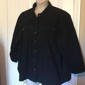 westbound Jackets & Blazers - Plus size twill jacket