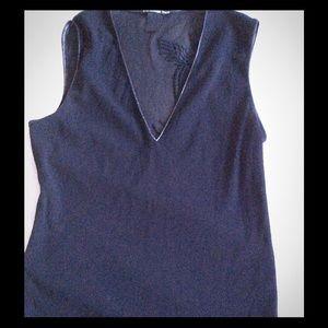 Vivienne Tam Tops - Vivienne Tam sleeveless top with a unique back