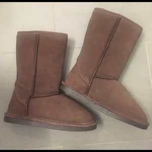 Lugz Shoes - BRAND NEW - chocolate brown LUGZ shearling boots