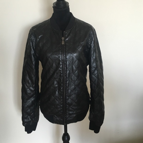 80% off Zara Jackets & Blazers - Zara mens quilted pleather jacket ... : quilted pleather jacket - Adamdwight.com