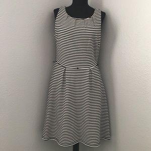 Merona Striped A-line Dress