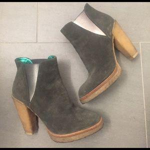Belle by Sigerson Morrison Shoes - Belle by Sigerson Morrison gum sole ankle booties