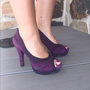 Nine West Shoes - Nine West peep toe heels