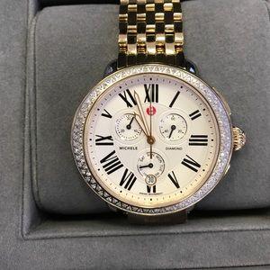 Michele Accessories - ✨Michele Serein Large Two Tone Diamond Watch