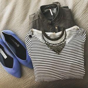 JCREW striped dress