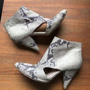 Loeffler Randall Shoes - Lowffler Randall snake skin heel, 10