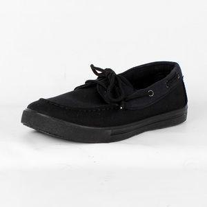 All black sneakers (806-122 Black)