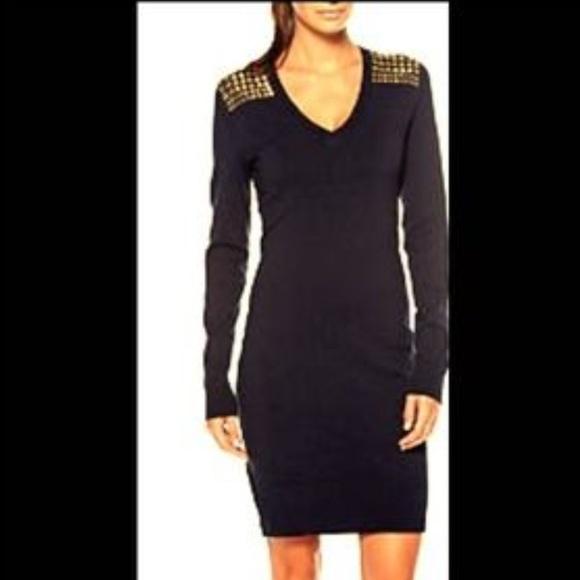7d8e82db373 MK studded sweater dress. M 589cfe99f09282520502c808