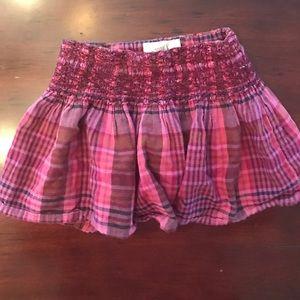 Peek Other - Peek Plaid Skirt