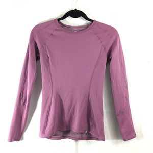 The North Face Tops - North Face purple athletic long sleeve