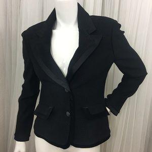 NWT ST JOHN Black Sparkle Jacket