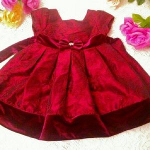 Sweet Heart Rose Other - 💕Gorgious maroon dress for your little princess!