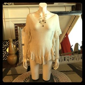 angel of the north Tops - Cream knit top