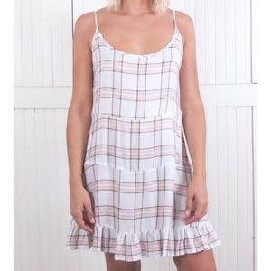 The Laundry Room Dresses & Skirts - Kailua Cutout Dress in Plaid