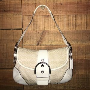 "Coach Handbags - Vintage Coach ""Mini C"" Handbag"