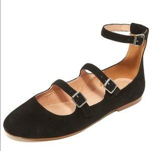 Madewell Shoes - Madewell Elsa Triple Strap Flats