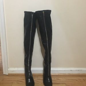 Wild Pair Shoes - Wild pair thigh high boots
