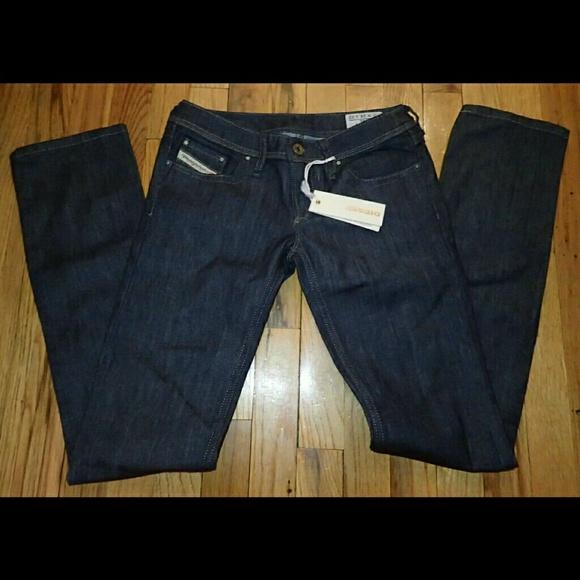 Diesel Denim - Diesel Dark Denim Jeans W24 L32 - NWT