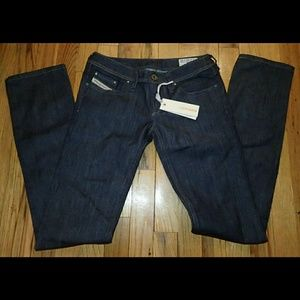 Diesel Jeans - Diesel Dark Denim Jeans W24 L32 - NWT