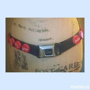 "Accessories - Seatbelt coke belt 35"" long"