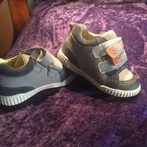 Umi Other - Toddler boy shoes Blue/Grey/Orange