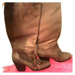 Rachel Comey Shoes - Rachel Comey leather knee high tassel boots size 6
