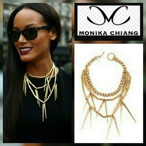 Monika Chiang   Jewelry - New Designer Monika Chiang Triple Spike Necklace