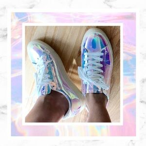 IRO Shoes - IRO Starye Iridescent Holographic Sneakers