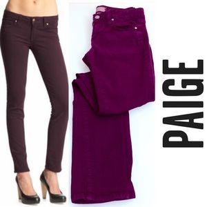 Paige Ankle Peg Skinny Jeans 