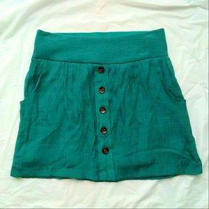 Charlotte Russe Dresses & Skirts - Charlotte Russe Teal Skirt