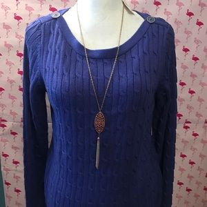 Talbots Sweaters - Talbots purple sweater 🎉NWT🎉FIRM Price