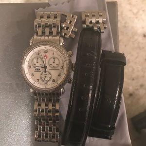 Michele Accessories - Michele CSX diamond watch
