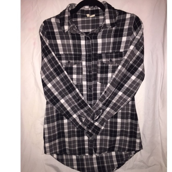 Summer style black grey and white women 39 s flannel l from for White and black flannel shirt womens
