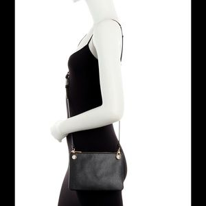 Furla Handbags - NWT Furla XL DOUBLE ZIP Leather Crossbody