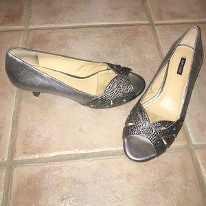 Alex Marie Shoes - ALEX MARIE silver formal shoes