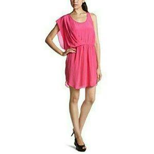 Greylin Dresses & Skirts - Greylin Natalie Crepe Dress in Hot Pink Size S