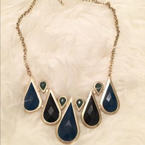 Jewelry - Blue & Green Statement Necklace