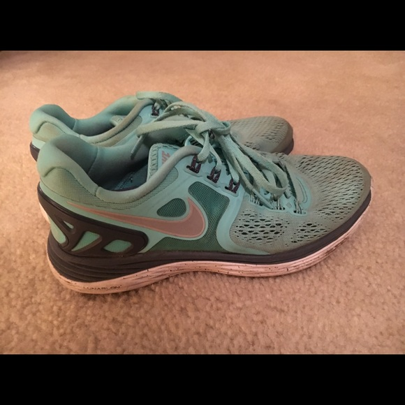 new arrival d38dd c1d71 Nike Lunarglide 5 Tiffany Blue Running Shoes