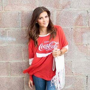 "Wildfox Tops - Wildfox Coca Cola ""Sunny Morning"" Tee"