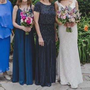 Dresses & Skirts - Navy Blue Mother of the Bride Dress
