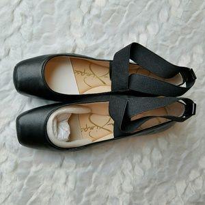 NEW Jessica Simpson Leather Mandalay Ballet Flat