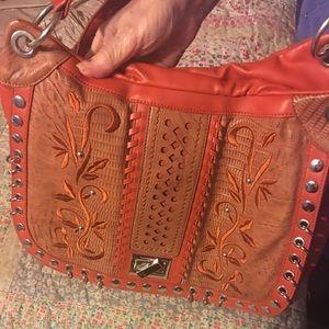 Nicole Lee Handbags - Orange Nicole Lee shoulder bag