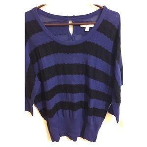 LC Lauren Conrad Sweaters - LC Striped Sweater