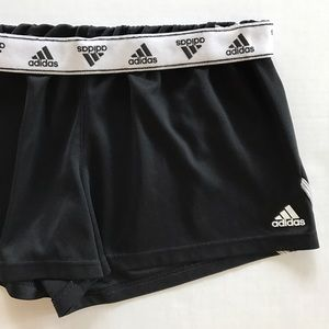 Adidas Pants - [Adidas] women's black athletic shorts M
