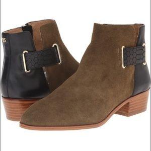"""Yosi Samra Shoes - Yosi Samra """"Drew"""" Suede Boot"""